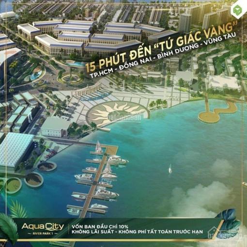 Mở bán shophouse siêu vip Aqua City, mặt tiền Hương Lộ 2, số lượng giới hạn, 0909113111 ảnh 0