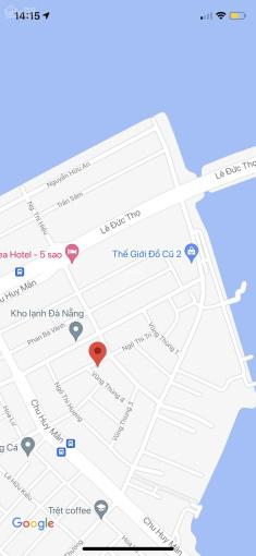 Bán lô đất 2MT đường Ngô Thì Trí - Vũng Thùng 4, Quận Sơn Trà DT: 151.8m2, ngang 8m. Giá: 5,4 tỷ ảnh 0