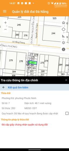 Bán đất tặng nhà kiệt 57/ Lê Hồng Phong, 2 mặt kiệt trước sau ảnh 0