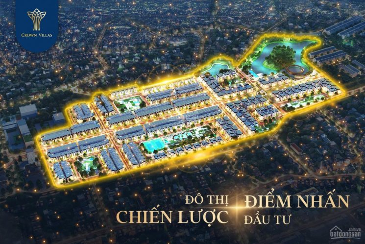 Bán suất ngoại giao VIP thuộc dự án Crown Villas Thái Nguyên. Giá LH: 0916052323 ảnh 0
