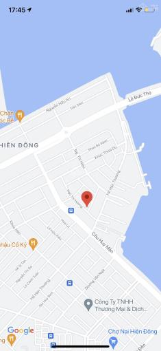 Bán lô đất 2 mặt tiền đường Ngô Thì Hương - Vũng Thùng 3, Sơn Trà. DT: 146m2 (8x20,5m). Giá: 6 tỷ ảnh 0