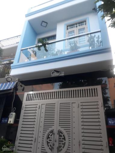 Cần bán căn nhà 4.3 tỷ, 2 tầng BTCT, diện tích 56m2, Phú Thọ Hòa, Tân Phú, LH 0386817015 ảnh 0