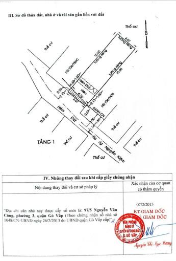 Chính chủ bán nhà riêng đường Nguyễn Văn Công, Phường 3, Gò Vấp. Đảm bảo giá tốt nhất khu vực ảnh 0