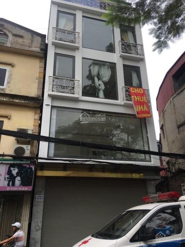 Cho thuê nhà 264 Hoàng Văn Thái 90m2 x 7 tầng, mặt tiền 6m, thang máy, nhà mới cực đẹp ảnh 0