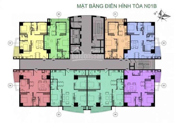 Căn góc 3PN 86m2 tầng cao tòa N01B CC quân đội K35 Tân Mai giá chỉ 29.8tr/m2 giao nhà ngay ảnh 0