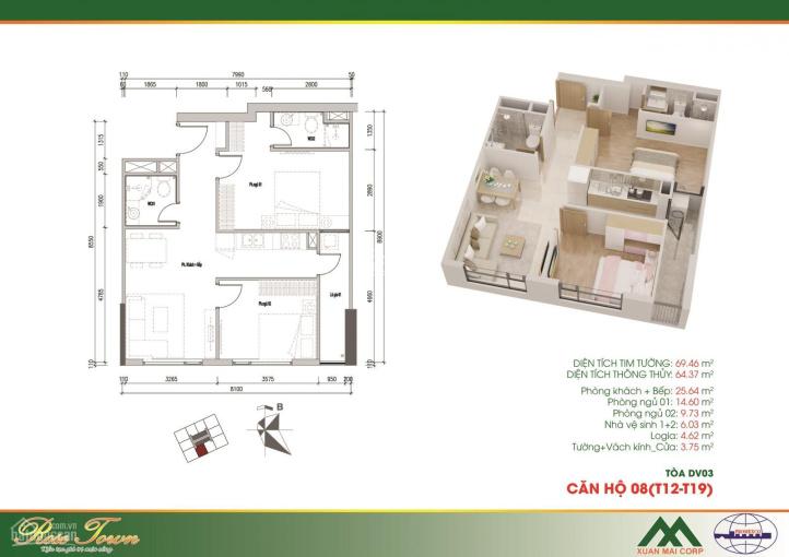 Bán căn hộ số 08 ban công Đông Nam tầng 18 dự án Rose Town giá ưu đãi 1,7 tỷ, ký trực tiếp CĐT ảnh 0