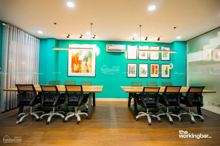Cho thuê sàn văn phòng vị trí cực đẹp, MT Phan Văn Trị 150-200m2, giá 30tr, full nội thất ảnh 0
