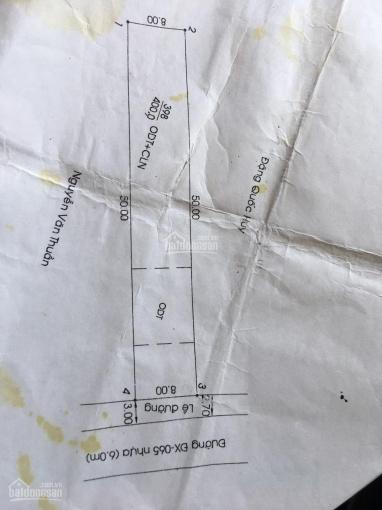 400m2 Phường Định Hòa DT 8x50m 80m2 thổ cư đường DX 065 nhựa lớn. Đất bằng phẳng đẹp giá bán 5tỷ2 ảnh 0