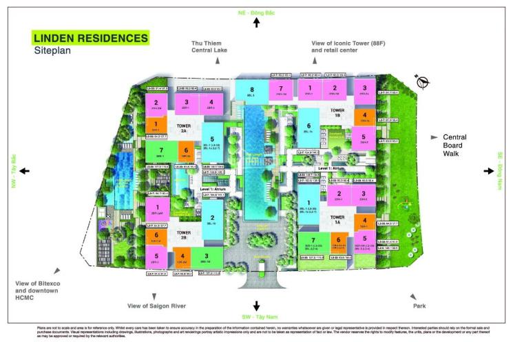 Bán gấp căn 1PN tòa Linden Empire City, giá 6,3 tỷ Huỳnh Thư 0905724972 ảnh 0