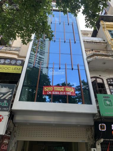 Cho thuê nhà MP Hoàng Văn Thái, 130m2 * 6,5 tầng, 1 hầm, giá 80 triệu/th, lh xem nhà, 0363312651 ảnh 0