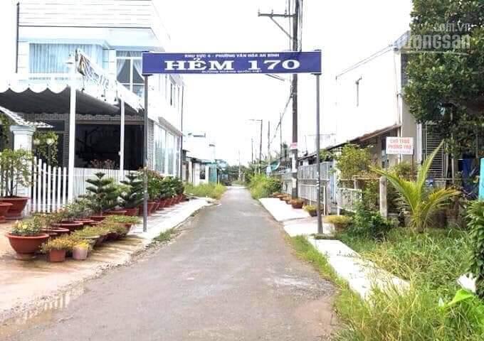 Bán cặp nền trục chính hẻm 170 Hoàng Quốc Việt - P. An Bình - Q. Ninh Kiều - TP Cần Thơ 4x19 TC ảnh 0