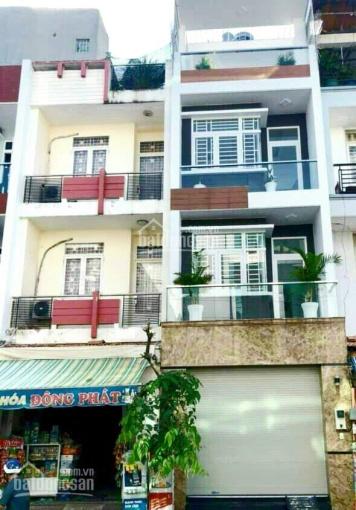 Cho thuê nhà ngay ngã 3 Tân Sơn Nhì, Nguyễn Cửu Đàm 100m, DT: 4x19m, 4 tấm, full NT đẹp & thang máy ảnh 0
