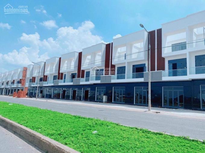 Nhà xây sẵn liền kề mặt tiền QL1A, giá rẻ, chiết khấu cao, thanh toán dài hạn ảnh 0