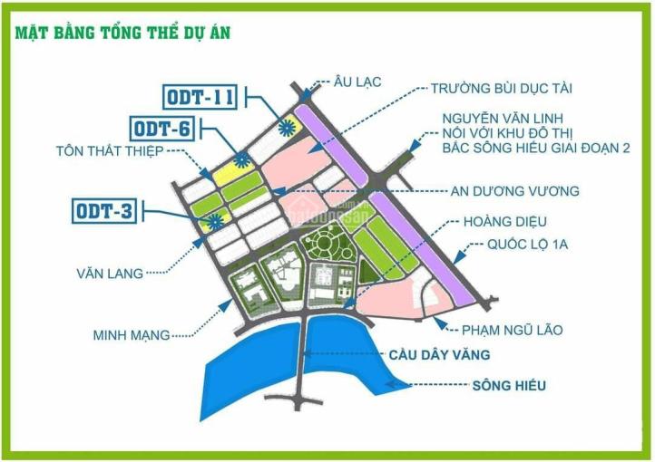 2 mặt tiền - Bắc Sông Hiếu - 13.8x20m - đường Minh Mạng ảnh 0
