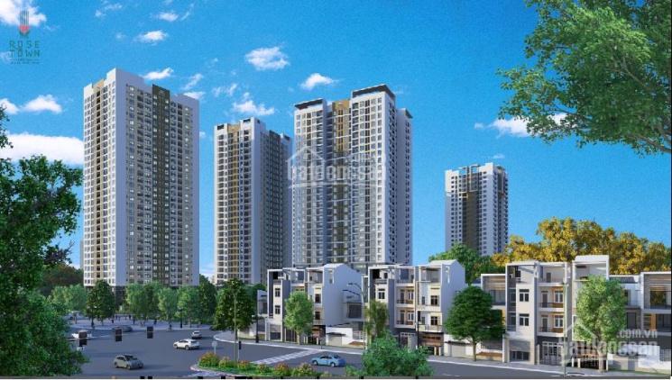 Rose Town - Bán gấp căn ngoại giao 1608 DV3 ban công Đông Nam 2PN giá 1.79 tỷ ảnh 0