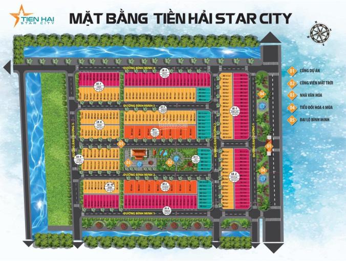 Gia đình cần bán lô đất nền dự án Tiền Hải Start City DT 85m2, 1,5 tỷ, LH: 0866.695.895 ảnh 0