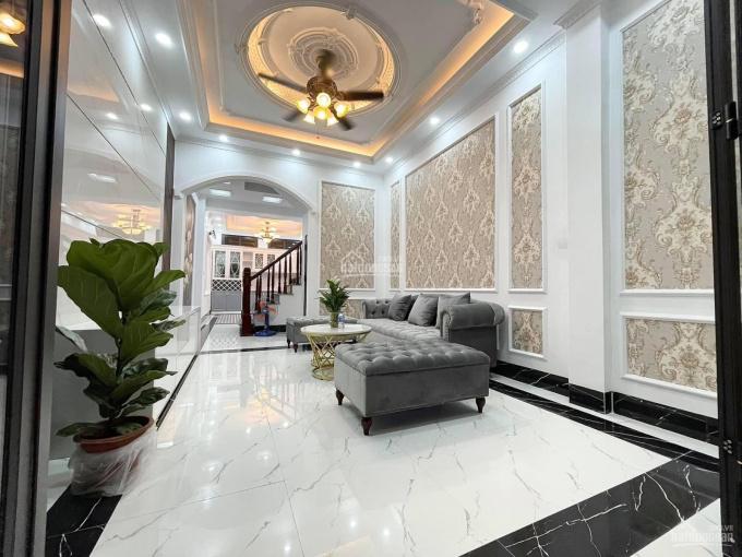 Bán nhà ngõ 129 Nguyễn Trãi nội thất Châu Âu, 4T, có sân, DT 55m2, MT 3.5m ảnh 0