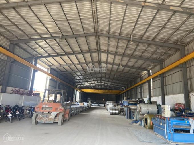 Cần bán gấp xưởng thép, đường nhựa 10m, xe container đi vô được, DT 2.827m2, 11 triệu/m2, sẵn sổ ảnh 0