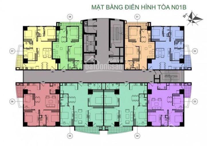 Hiếm: Giảm sâu căn hộ 3PN rộng 121 m2 tầng đẹp, tòa mới N01B, K35 Tân Mai giá chỉ 28,9tr/m2 ảnh 0