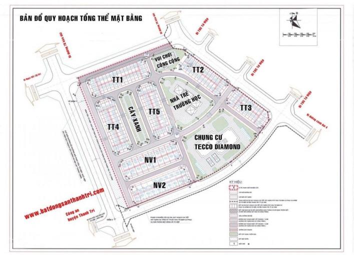 Bán đất chính chủ khu đấu giá Thanh Trì ngay công an huyện chỉ 79 triệu/m2, 0898278386 ảnh 0