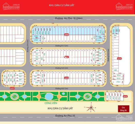 Chính chủ bán gấp dự án Uni Mall Center An Phú Bình Dương. Chỉ 27 triệu/m2 liên hệ 0932694943 ảnh 0