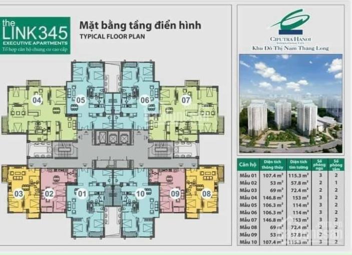 Bán đợt cuối chung cư The Link 345 view Sông Hồng 153m2 giá từ 6tỷ2, LS 0%, CK 15%, nhận nhà ngay ảnh 0