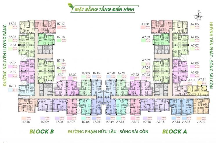 Giai đoạn 1 căn hộ The Green Star Sky Garden Quận 7, hotline 0909153869 Mr Lương ảnh 0
