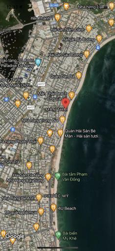 Bán đất 2MT đường Hoàng Sa - Nguyễn Huy Chương, Quận Sơn Trà. DT: 2039m2 (45x45m). Gía 275 triệu/m2 ảnh 0