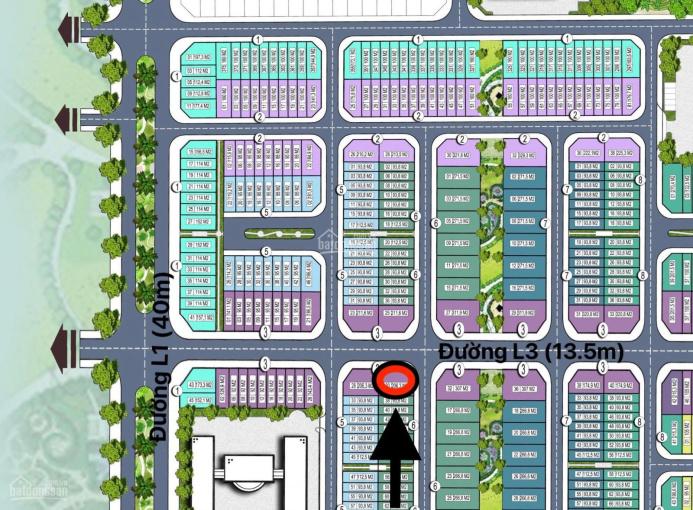 Chính chủ - Bán shophouse góc ngã tư L3.30, đối diện biệt thự trung tâm, mặt đường 13,5m ảnh 0