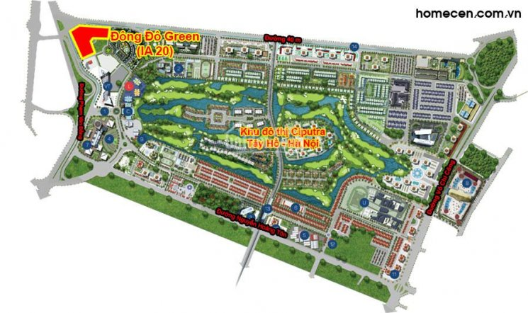 Sàn thương mại tại tòa IA20 Ciputra Tây Hồ diện tích linh hoạt từ 40m2, giá từ 1,8 tỷ/căn ảnh 0