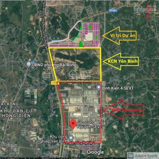 Bán đất nền sổ đỏ lâu dài Hồng Tiến, Phổ Yên, Thái Nguyên LH 0969727707 ảnh 0