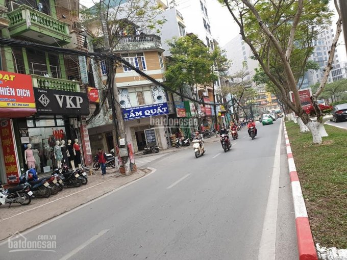 Bán nhà phố Dương Quảng Hàm, quận Cầu Giấy 70m2, 3 tầng mặt tiền 6,5m (ô tô vào nhà) ảnh 0