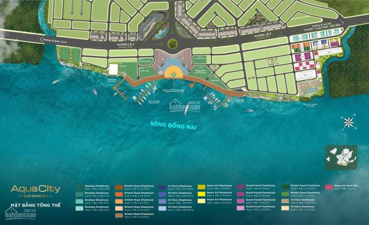 Shophouse Aqua City, cam kết cho thuê 150 triệu/tháng, ngay quảng trường - bến du thuyền ảnh 0