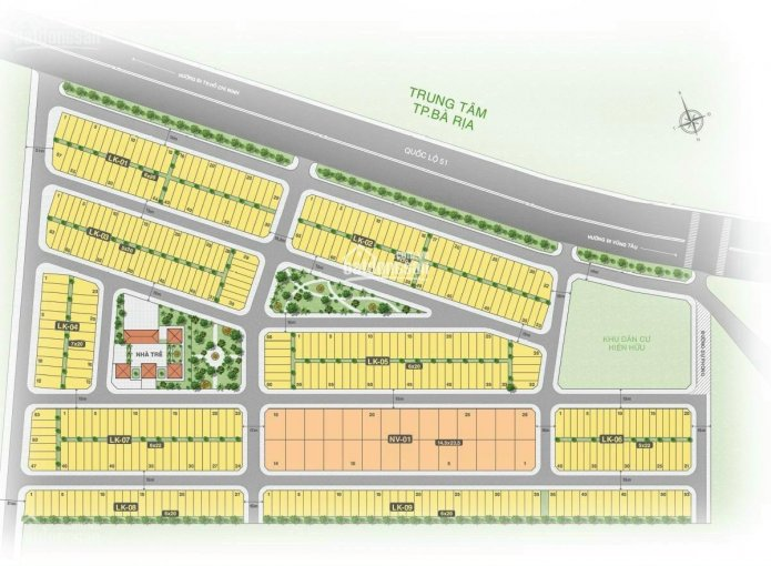 Bán đất nền dự án Bà Rịa City Gate mặt tiền Quốc Lộ 51, giá 1,650 tỷ ảnh 0