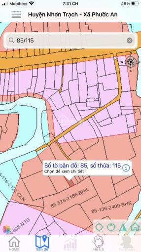 Bán gấp lô đất xã Phước An, Nhơn Trạch, Đồng Nai. Diện tích 6mx16,6m. Sổ đỏ đầy đủ. ảnh 0