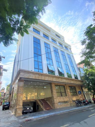 Cho thuê nhà phố Thụy Khuê, Tây Hồ, DT 160m2, 8T 1H, MT 11m nhà mới, thông sàn, thang máy, giá 90tr ảnh 0
