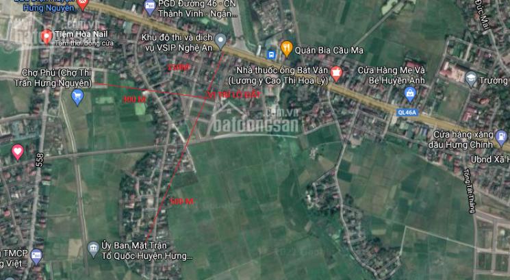 Bán đất đầu tư trung tâm thị trấn Hưng Nguyên, cách khu đô thị VSIP Nghệ An 150m ảnh 0