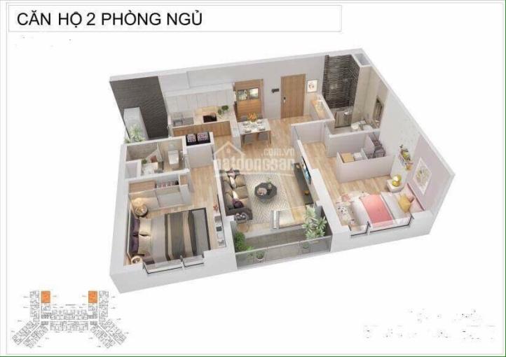Chính chủ bán căn 2 PN toà S1 CC Sapphire Bến Đoan, Hạ Long. Diện tích 78m2 giá 2,4 tỷ, 0339611188 ảnh 0