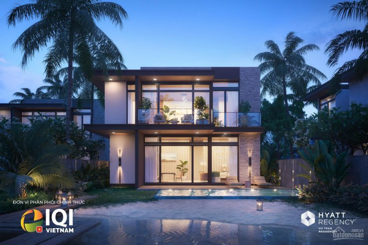 Biệt thự nghỉ dưỡng tại Hồ Tràm - Hyatt Regency Ho Tram Residence - BĐS thương hiệu ảnh 0