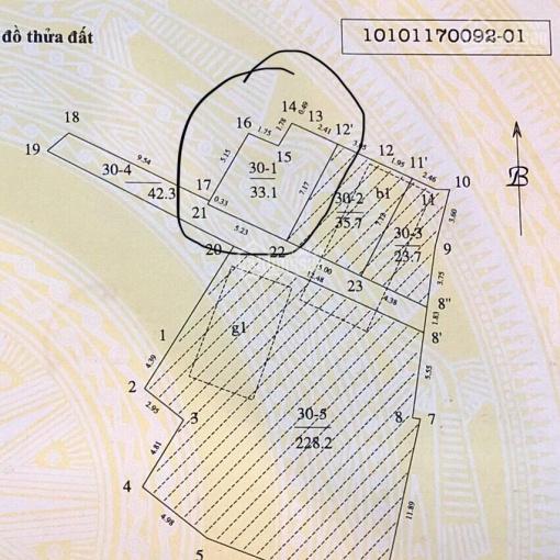 Chính chủ bán đất ngõ 101 Đào Tấn (hiện trạng C4) ảnh 0