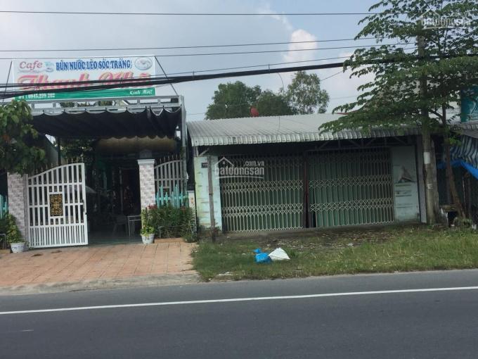 Nhà mặt tiền Quốc Lộ 91, gần trung tâm Ô Môn. Đất thịt ảnh 0