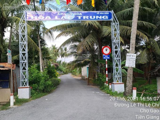Bán gấp lô đất thổ cư mặt tiền đường Hòa Lạc Trung - Cách nhà thờ Hòa Định 1 km ảnh 0