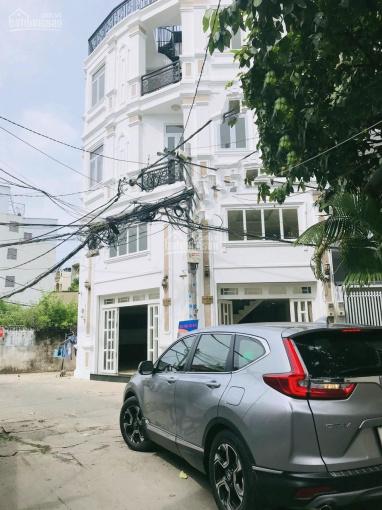 Giảm trực tiếp 300 triệu bán nhanh hẻm ô tô 7 chỗ đường Lê Quang Định, xây lửng, 3 lầu, gồm 5 phòng ảnh 0