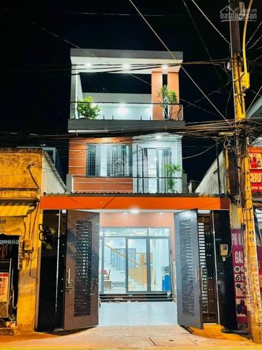 Nhà 1 trệt 2 lầu mặt tiền đường Trương Văn Thành (5,2x20) mặt tiền kinh doanh đường lớn 20m ảnh 0