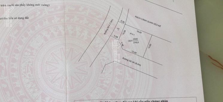 Cần bán đất nền biệt thự KDC Nam Long, nền góc đường Số 4, DT 216m2, H. Tây Bắc, giá 7.2 tỷ ảnh 0