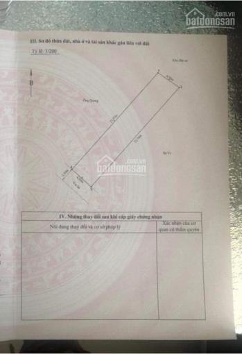 Chính chủ cần thanh lý mảnh đất phố Đoàn Kết - Lô 5 Quán Nam. 105m2, mặt tiền 4.5m, 37 triệu/m2 ảnh 0