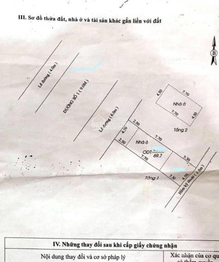 Nhà trệt lầu trục chính KDC Hoàng Quân, 4,5x15,5m, 69.7m2, 2,35 tỷ ảnh 0
