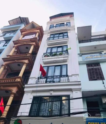 Bán tòa nhà chung cư mini 7 tầng thang máy. 105m2, MT 5m, Cầu Giấy 27 phòng thuê 90/100tr/tháng ảnh 0