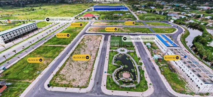 Đất nền đối diện trung tâm công viên, sổ riêng, giá ưu đãi và chính sách hấp dẫn mùa dịch ảnh 0