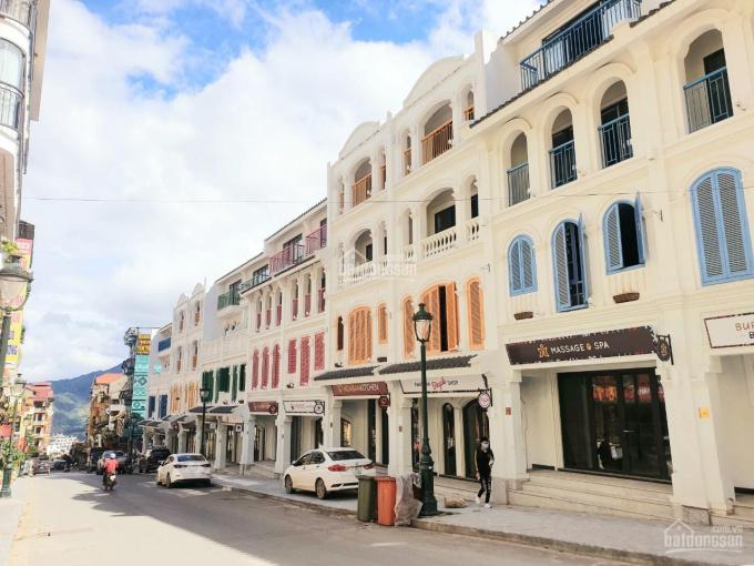 Suất ngoại giao duy nhất căn shophouse 2 mặt tiền phố Cầu Mây, Sa Pa. LH 0702465888 ảnh 0